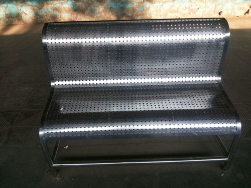 Playground Stainless Steel Bench