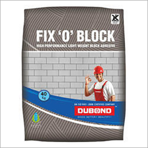 Block Fix Adhesive