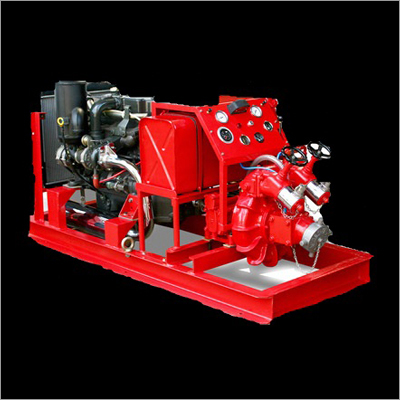 Skid Mounted Fire Pump