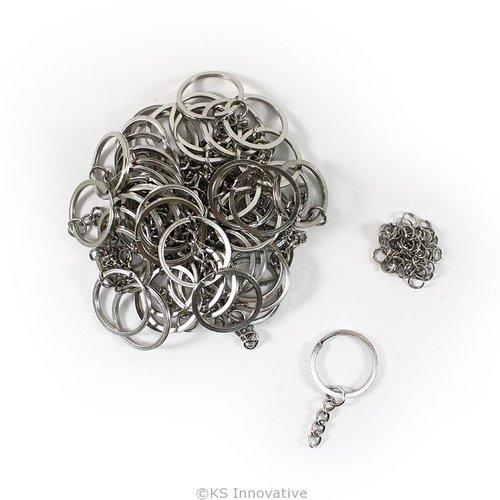 SS Split Key Rings