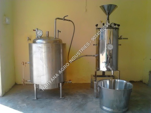 Milk Boiler with Sterilizer