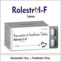 Rosuvastatin 10mg. + Fenofibrate 145mg.