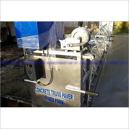 Fix Form Truss Paver Machines