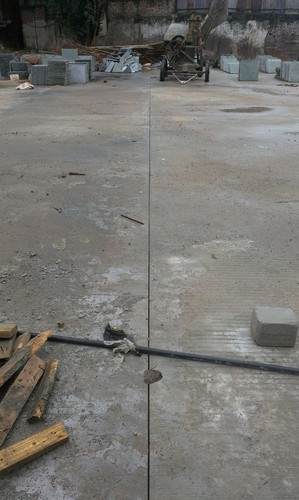 Concrete Floor Groove Cutting Services