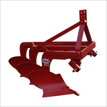 3 Furrow Mould Board Plough