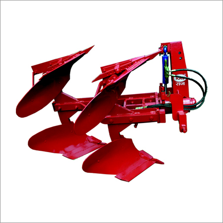3 Furrow Hydraulically Operated Reversible Plough