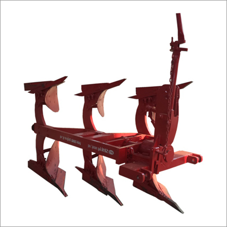 2 Furrow Lever Operated Reversible Plough