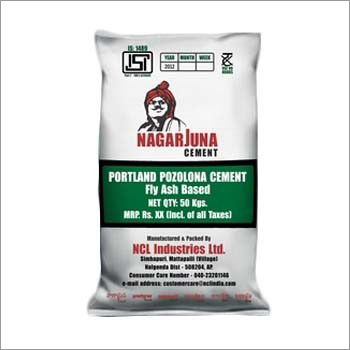 Portland Pozolona Cement - Fly Ash Based