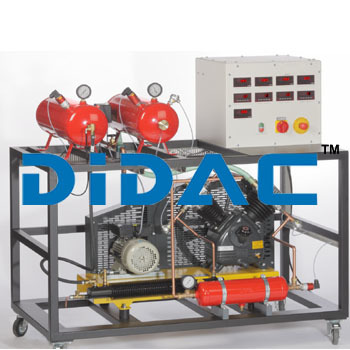 Two Stage Piston Compressor