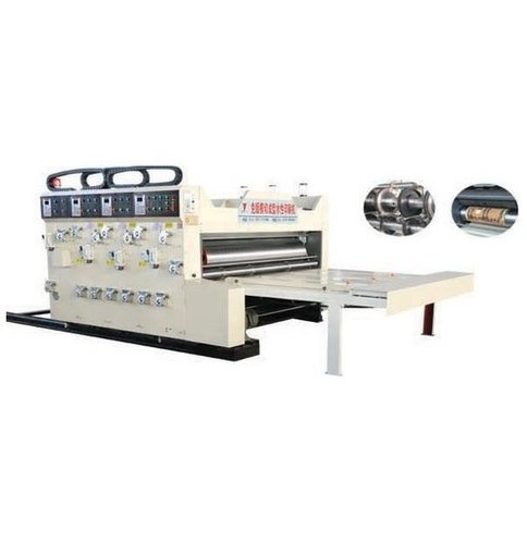 Printer Slotter With Die Cutter