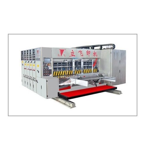 High Speed Flexo Ink Printer Slotter Die Cutter