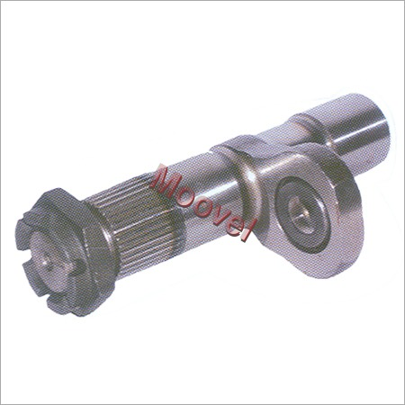 Steering Sector Shaft W Nut