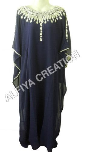 Elegant fancy evening wear farasha kaftan
