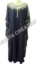 Elegant fancy evening wear farasha kaftan