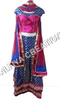Fancy party wear lehnga choli dress