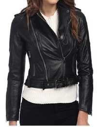 Women Long Leather Jackets
