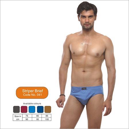 Cotton Stripper Brief