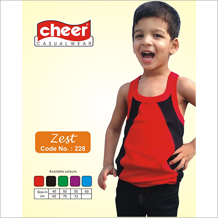 Colored KIds Vest
