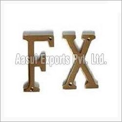 Designer Metal Alphabets
