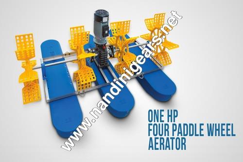 Four Paddle Wheel Aerator