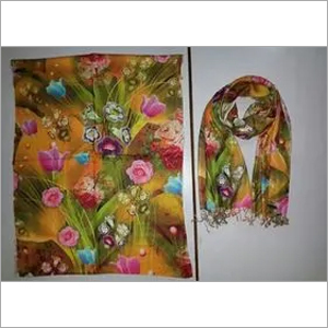 Printed Stole In Cotton