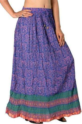 Cotton Printed Wrap around Skirt