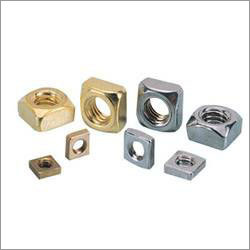 Brass Square Nut