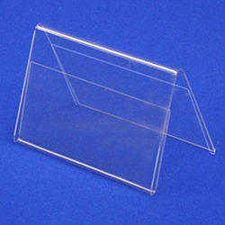 Acrylic Tent Card Holders
