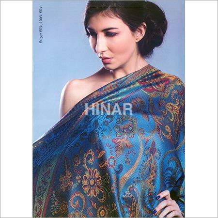 100% Pure Silk Printed Shawls