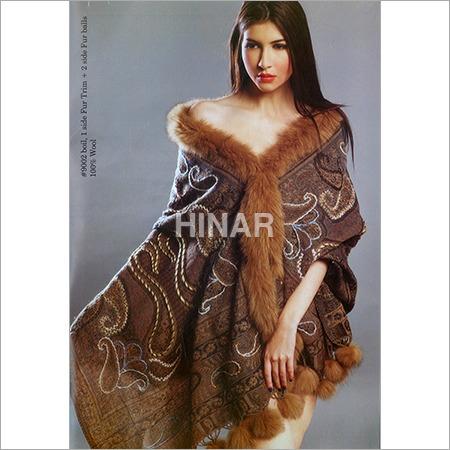 Boil 1 Side Fur Trim + 2 Side Fur Balls 100% Wool
