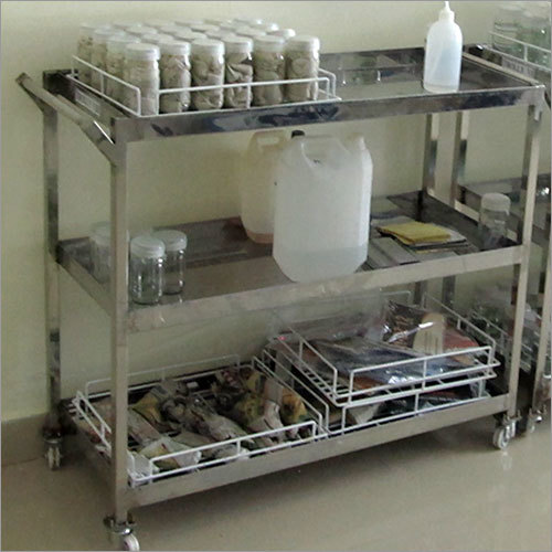 Stainless Steel Lab Trolleys