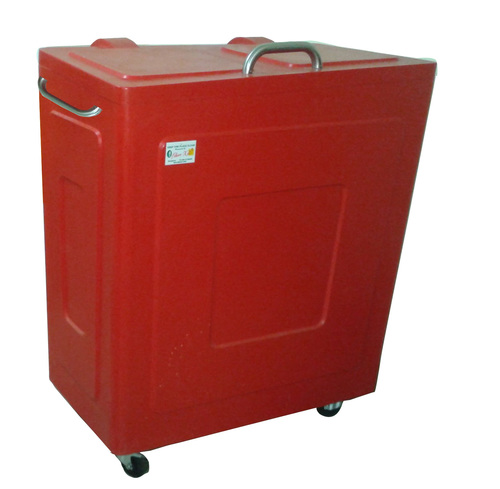 FRP Carvan Dustbin