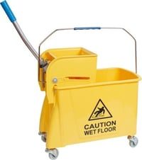 Single Mop Wringer Trolley 20ltr