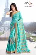 Designer Embroidery Saree