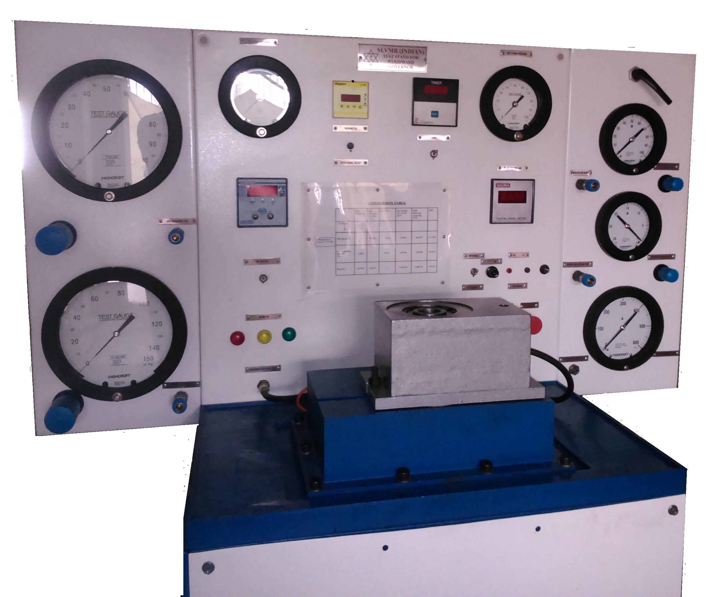 Governor Test Bench