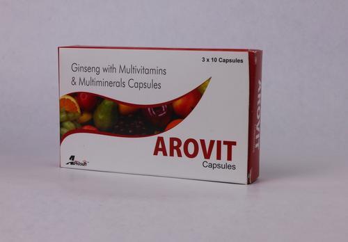 Ginseng Multivitamin & Multimineral Capsules