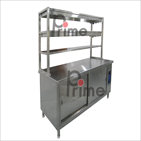 Pick Up Counter with Warmingt Food Cabinet