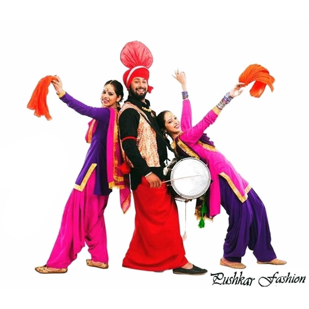 Bhangra Dance Costume