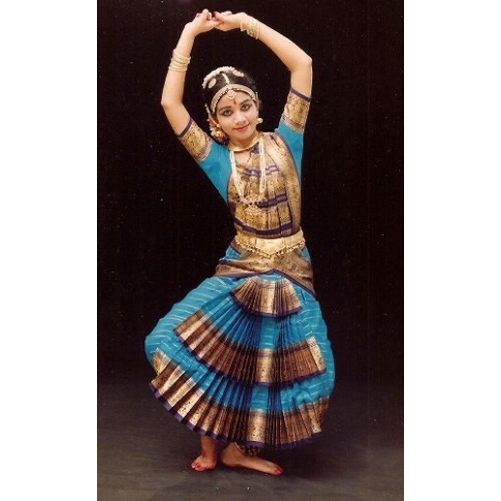 Blue Bharatanatyam Sets