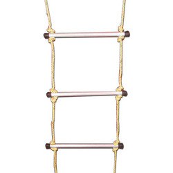 Rope Ladder With Aluminium Rugs