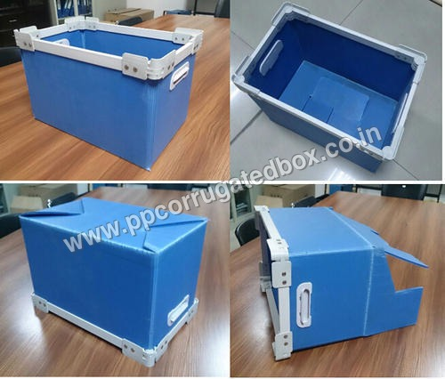 Multi Color PP Corrugated Box