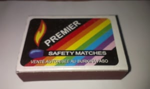 Wooden Safety Matches