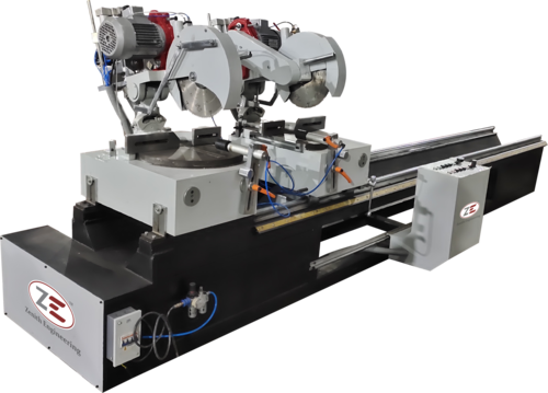Double Head Alumminium Cutter Machine