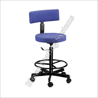 Revolving Back Rest Stool