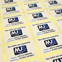 Printed Self Adhesive Sticker Label
