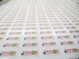 Printed Sticker Label