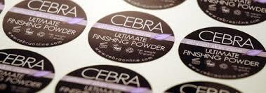 Customized Printed Sticker Label