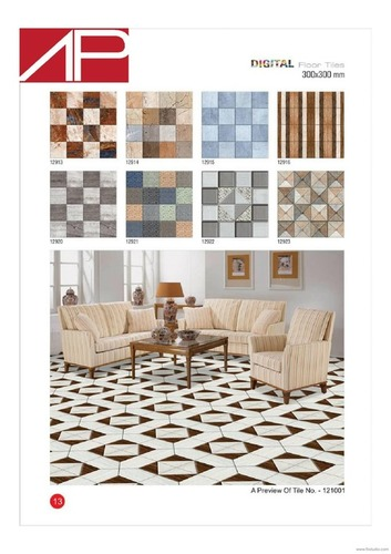 Mosaic Ceramic Floor Tiles
