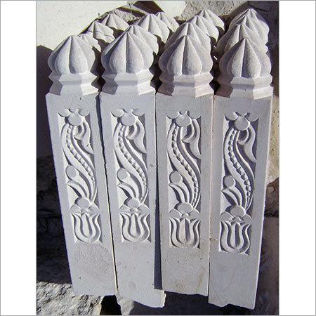 Sandstone Fence Pillars