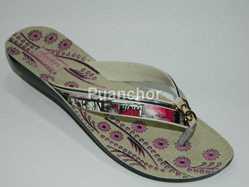 Designer women slipper